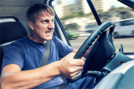 Chauffeurs van bedrijfswagens rijden vaker onveilig