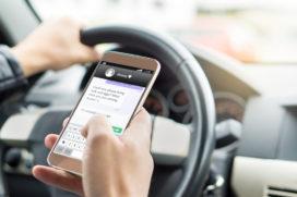 Gebruik jij je smartphone in het verkeer?