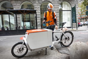 Neemt de cargobike pakketbezorging in de stad over?