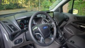 Ford Transit Connect interieur