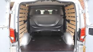 Mercedes-Benz Vito laadruimte