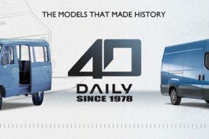 IVECO Daily viert veertigste verjaardag