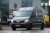 De MAN TGE van Van Blitterswijk Eco-Mobiliteit