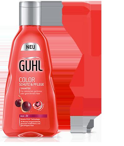 Color Schutz und Pflege Shampoo von Guhl