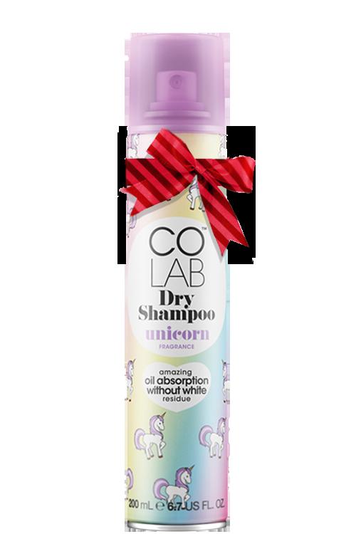 CoLab Unicorn Dry Shampoo mit Schleife