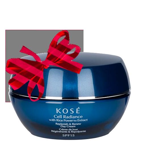 Kose Cell Radiance Replenish & Renew Day Cream