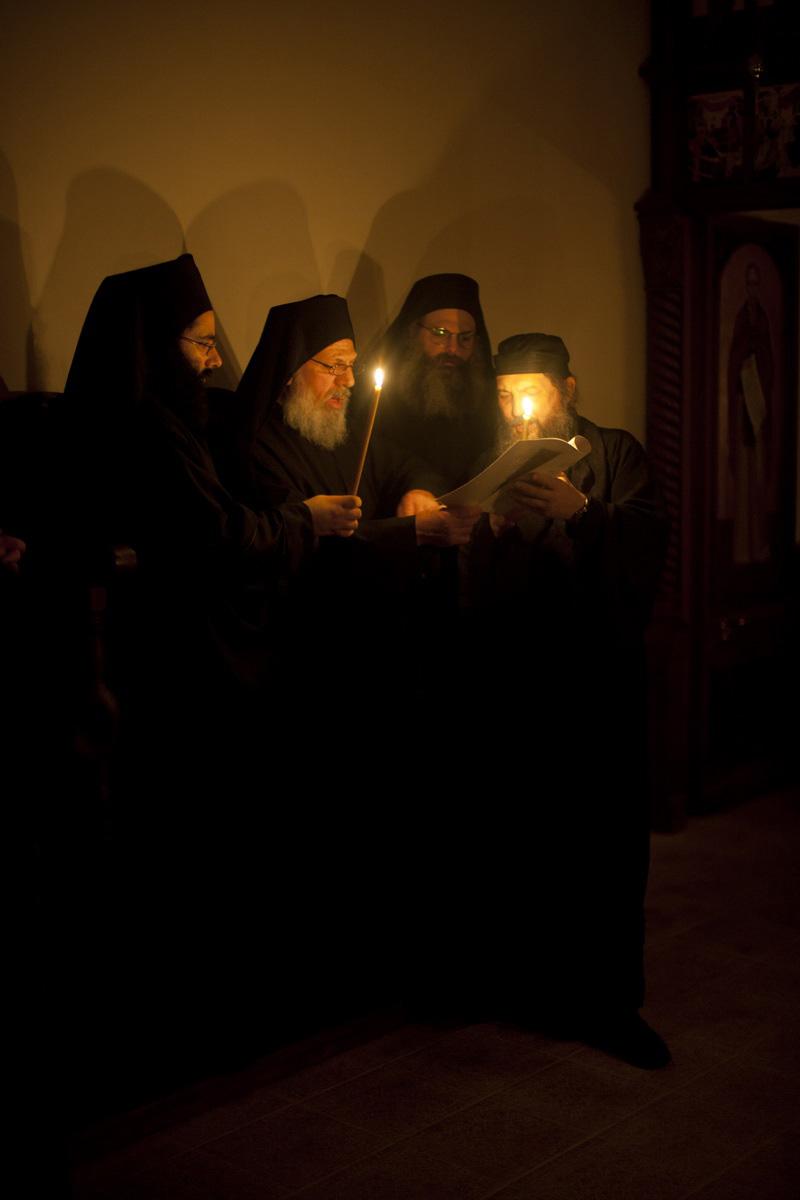 Панигири (престольный праздник) Св. Саввы Сербскаго на Карульях