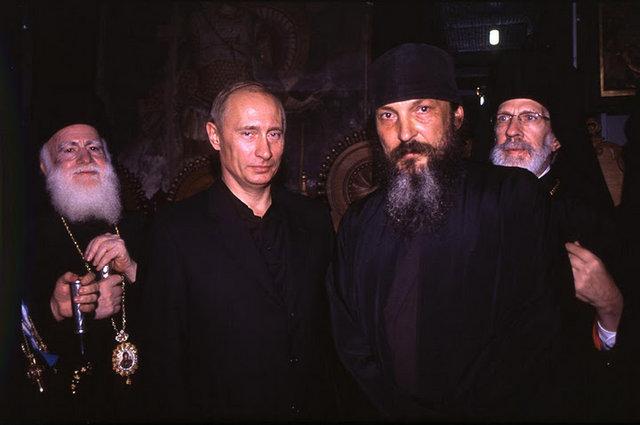 Монах Афанасий и Владимир Путин