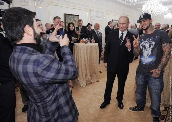 Путин, Галустян, Тимати