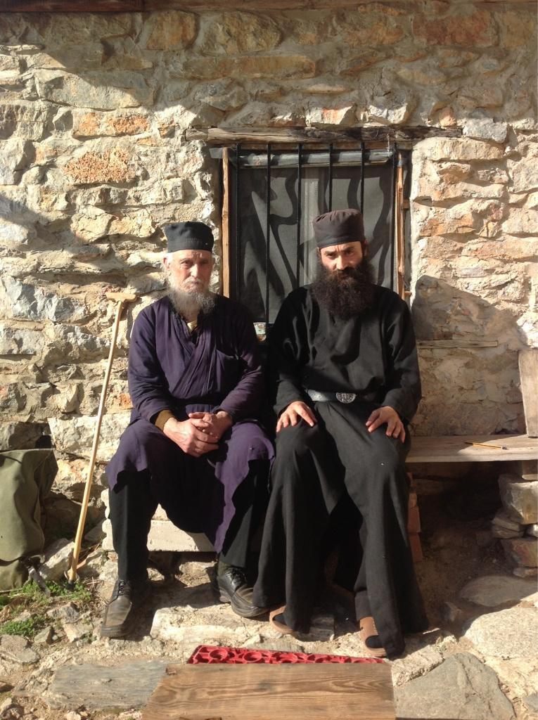 Старейший житель Фрихта Карулья — герон Арсениос