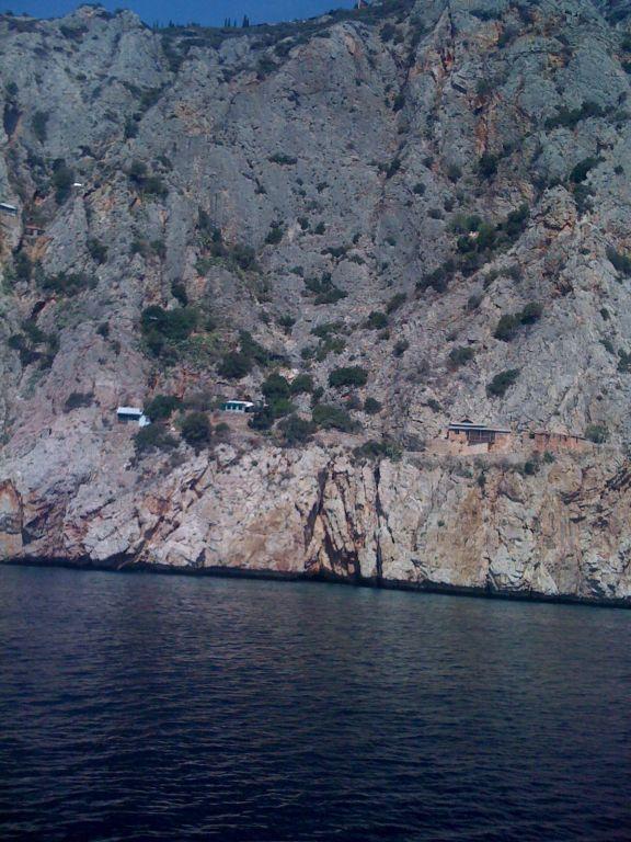 Афонские виды с палубы корабля