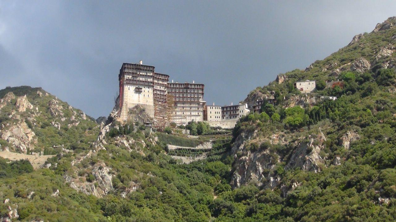 Священный монастырь Симонопетра