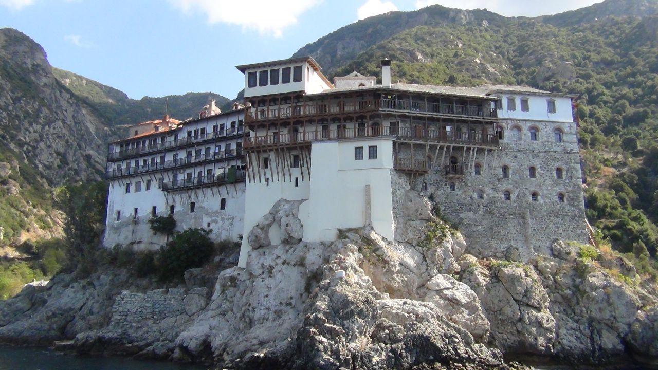 Священный монастырь Григориу. Святая гора Афон