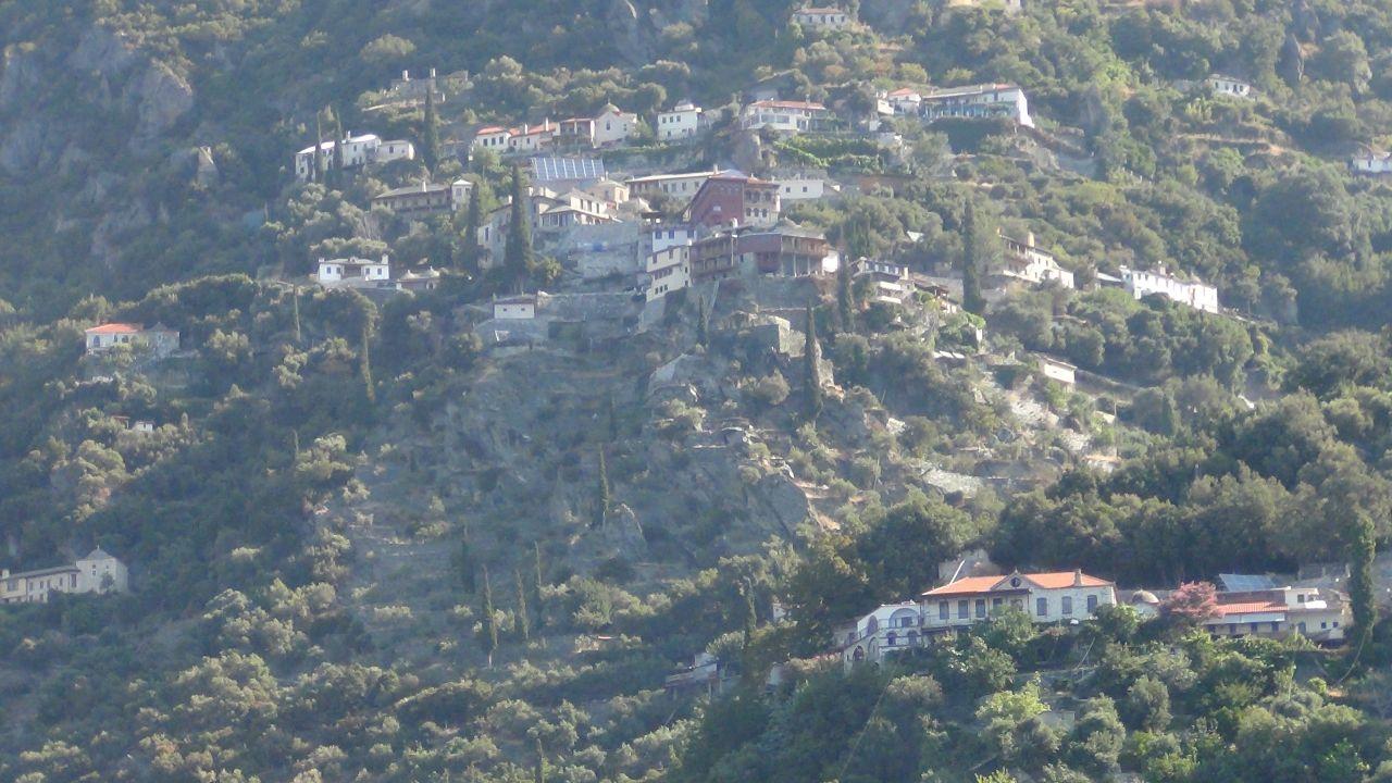 Кириакон. Святая гора Афон. Греция