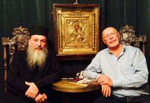 монах Афанасий и Эдуард Ходос
