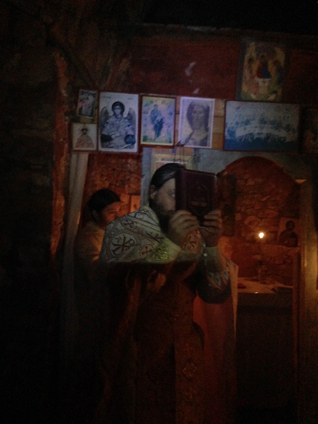 Рождественское всенощное бдение на Фрихта Карульях