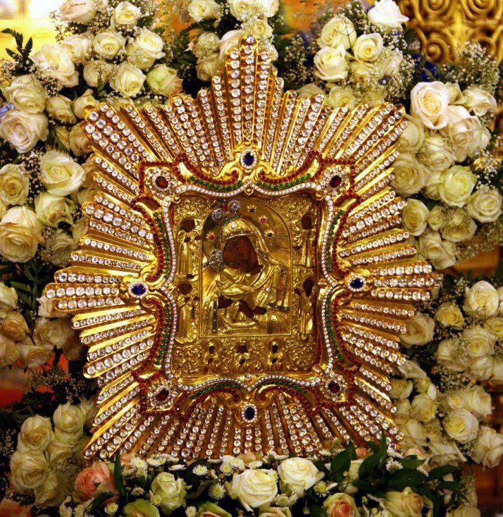 икона Божией Матери почаевской