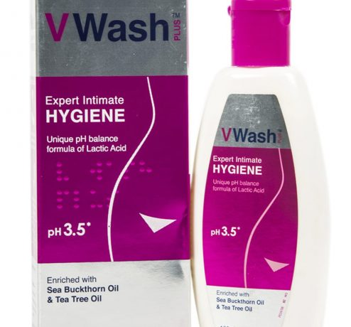 VWash Plus Intimate Hygiene Wash 100ml