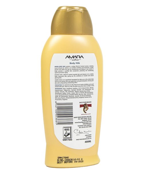 Amara Body Milk Lotion 400ml