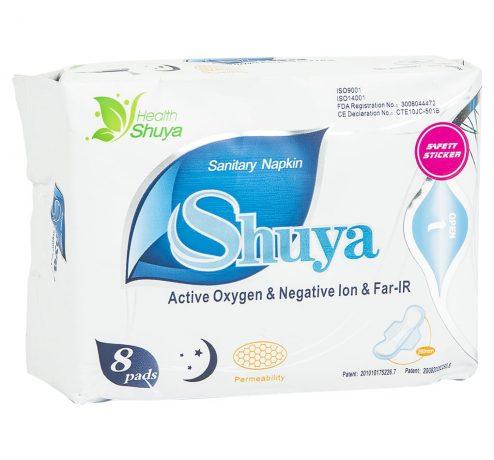 Shuya Sanitary Pads for Night Use Medium-8 pads