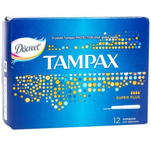 Tampax Super Plus 12 Pieces