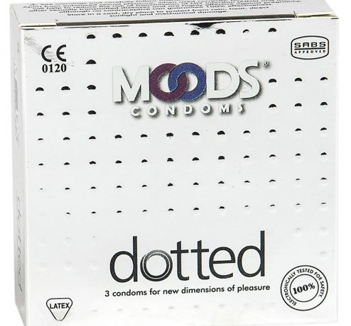 Moods Dotted Condoms Pack of 3