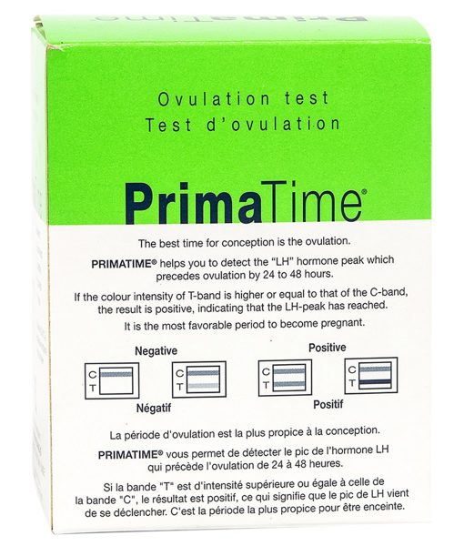 PrimaTime Ovulation Test(5 Tests)