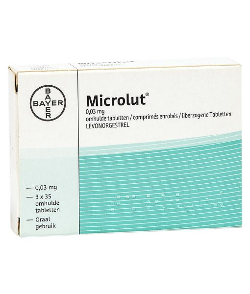 Bayer Microlut Daily Birth Control Pills - 105 Tablets For 3 Months
