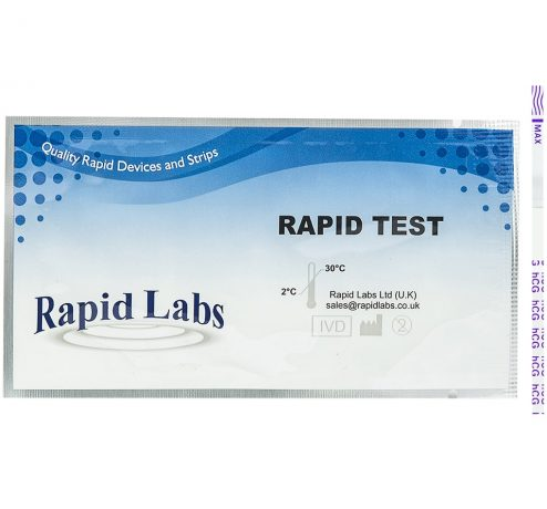 Rapid Labs Pregnancy Test