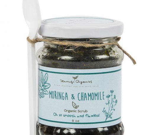 Moringa & Chamomile Scrub