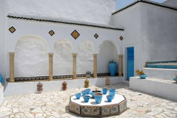 Sidi Bou Said – Tuniso Monmartras