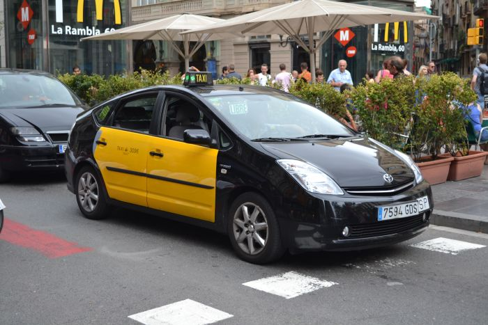Taxi-in-Barcelona