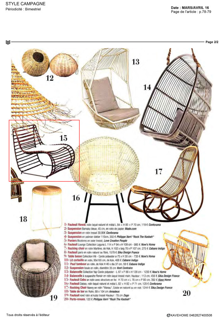 Style Campagne Kavehome