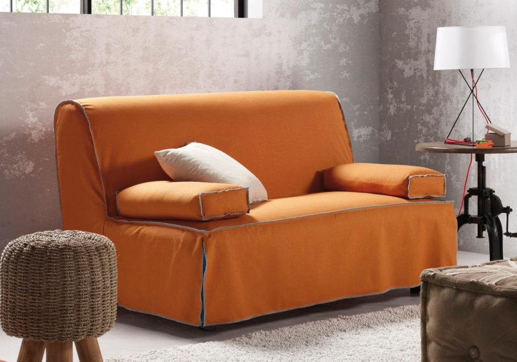 Canapé-lit, pouf et tabouret
