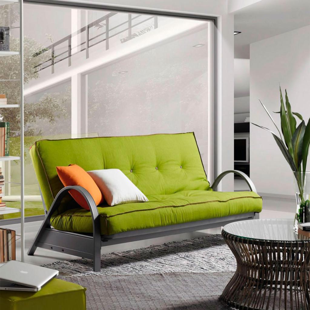 Canapé-lit fonctionnel