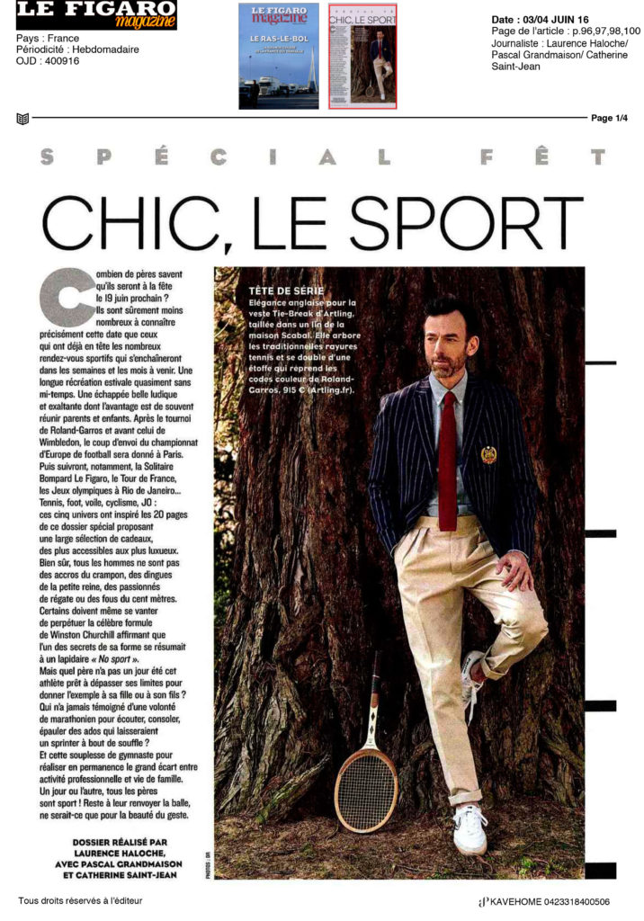 Figaro Magazine Kavehome