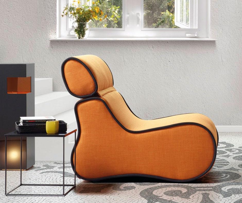 Sofa orange