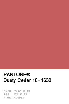 Dusty Cedar