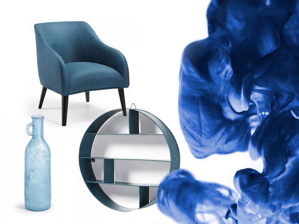 Décorer en blanc et bleu