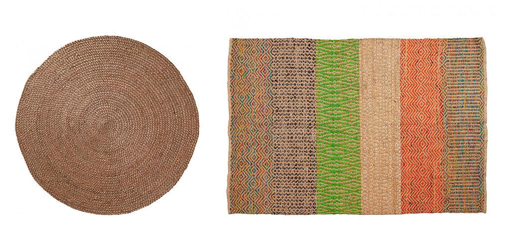 El yute fibra natural como la vida misma kave home - Alfombras de yute ...