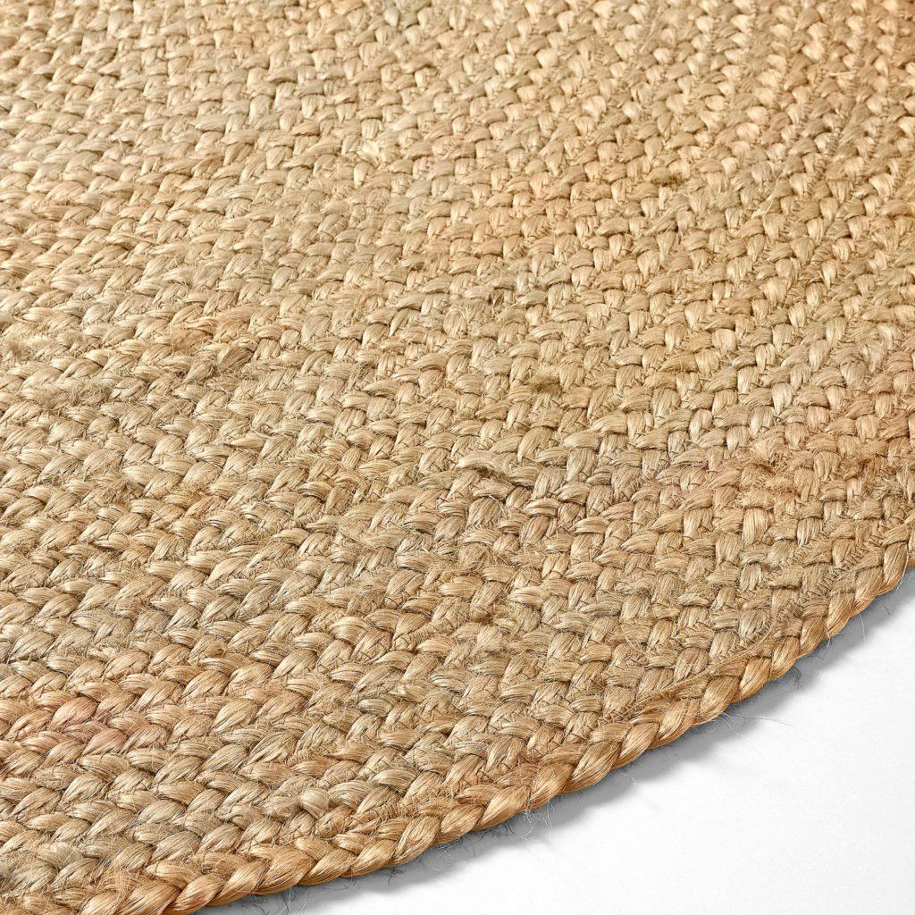 El yute fibra natural como la vida misma kave home - Como limpiar alfombra de yute ...