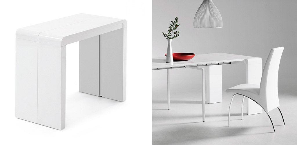 Muebles funcionales 2 en 1 kave home for Mueble que se convierte en mesa