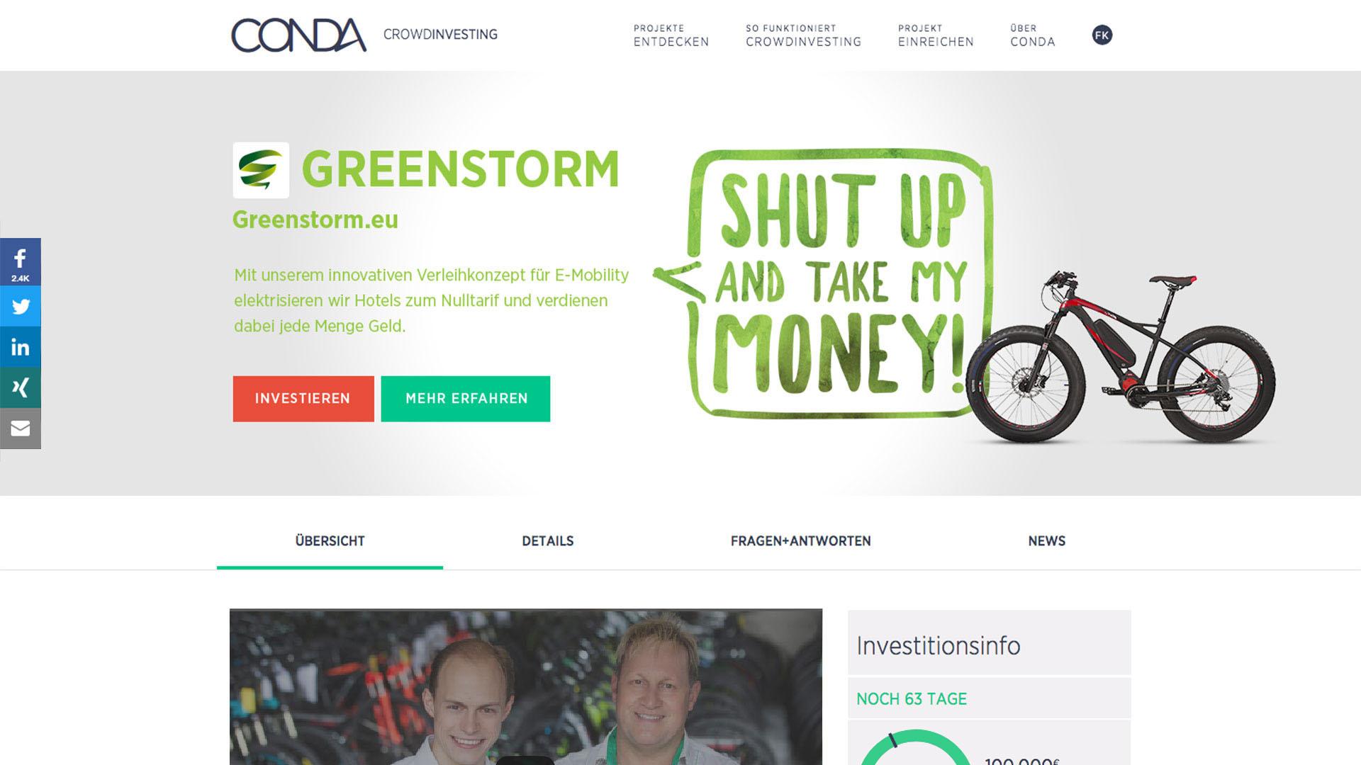 Conda | Greenstorm