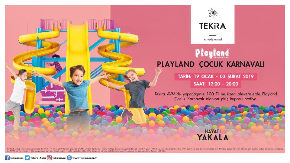 Playland Çocuk Karnavalı