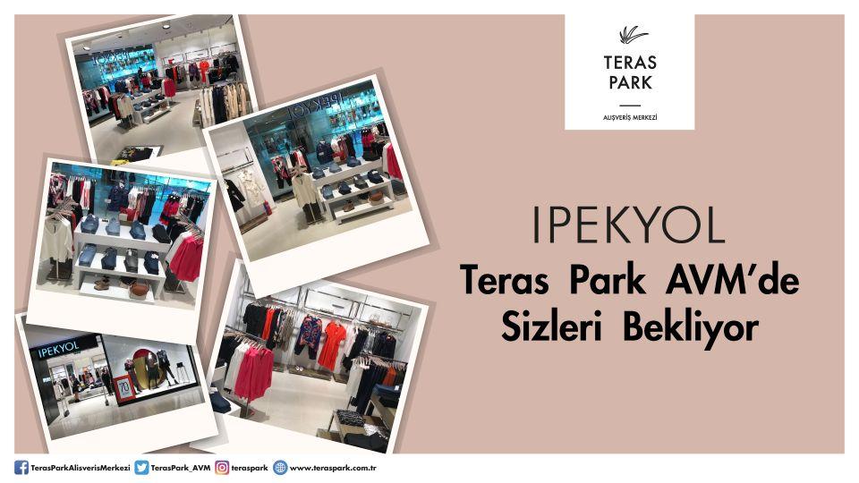 İpekyol Teras Park AVM'de Sizleri Bekliyor