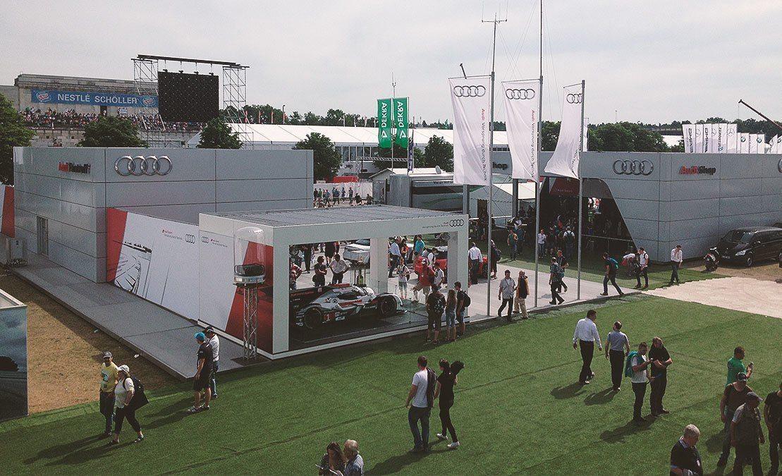 Audi DTM mit Kofler & Kompanie