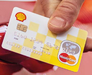 shell mastercard logga in
