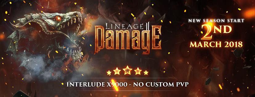 L2Damage x9999 PvP Interlude Server » NewGames gg