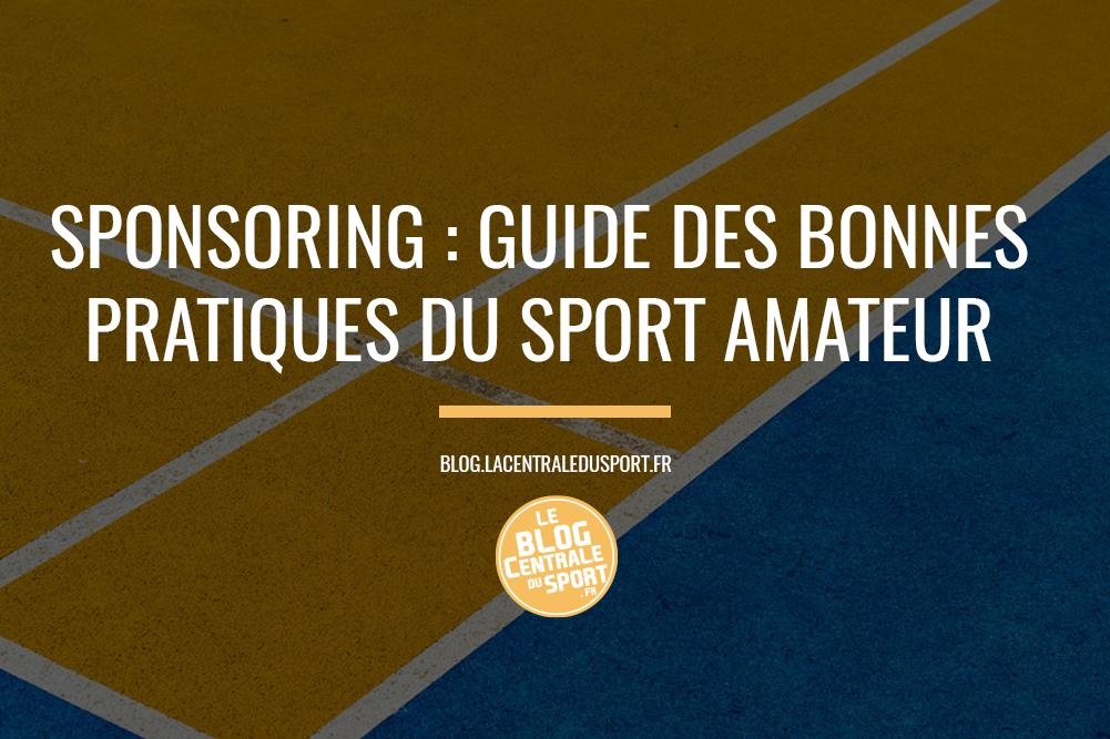 dossier sponsoring guide sport amateur