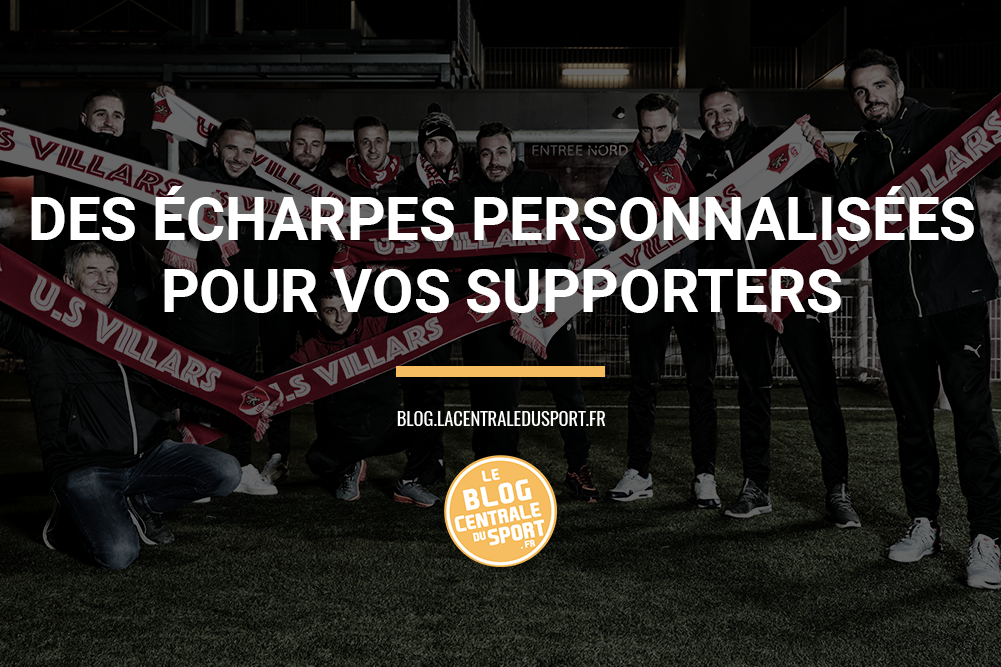 écharpes personnalisées supporters boutique club